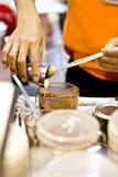 Moment för kaffe Royaltyfri Bild
