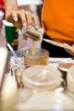 Moment för kaffe Royaltyfria Bilder