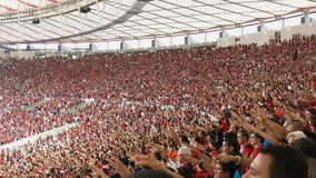 The Moment Of The Goal, Maracana Stadium, Rio de Janeiro stock video footage