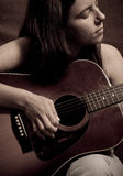 A Moment of Music Stock Photography