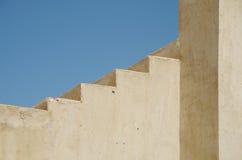 Moment på det Nakhal fortet Arkivbilder