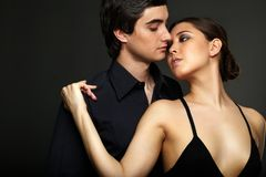 Moment of passion Royalty Free Stock Images