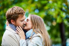 Moment of tenderness Royalty Free Stock Photography