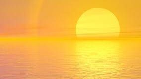 Moment till solen - 3D framför stock illustrationer