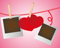 Moment of valentine. Save your best valentine moment Royalty Free Stock Images