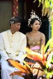 Indonesian wedding. The moment of wedding ceremony of the Indonesian wedding Stock Photography