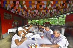 Moment wiara Rio de Janeiro Umbanda obrazy royalty free