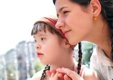Momenti felici della famiglia Fotografie Stock Libere da Diritti