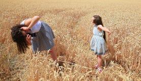 Momenti felici della famiglia Fotografie Stock