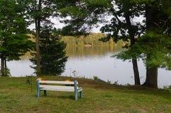 Momenti tranquilli di Lakeview Fotografia Stock