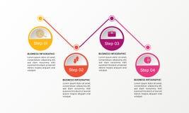 Momentinfographicsen - kan illustrera ett strategi-, workflow- eller lagarbete Fotografering för Bildbyråer