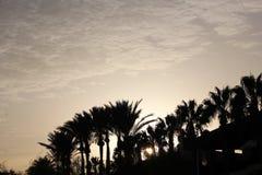 Momento agradable de la puesta del sol Imagen de archivo