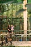 Momento allegro Fotografia Stock Libera da Diritti