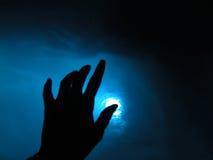 Momento blu Fotografie Stock Libere da Diritti