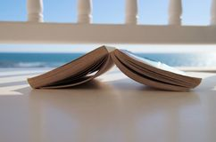 Momento de la lectura Fotos de archivo