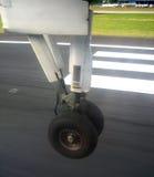 Momento del aterrizaje Imagen de archivo