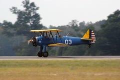 Momento del aterrizaje II fotos de archivo