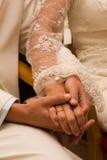 Momento do casamento Imagem de Stock