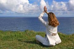 Momento espiritual Imagens de Stock Royalty Free