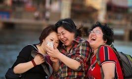 Momento feliz Foto de archivo