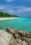 Momento hermoso en la isla de Tachai Imagenes de archivo