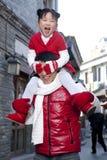 Momento macio entre o pai e a filha Foto de Stock Royalty Free