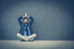 Momento para la meditación imagenes de archivo