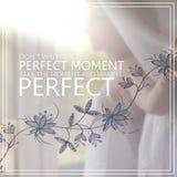 Momento perfeito Imagem conceptual Fotos de Stock Royalty Free