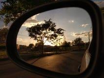 Momento reflexivo Imagem de Stock