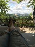 Momento a relaxar Imagens de Stock Royalty Free