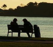 Momento romântico Imagem de Stock Royalty Free