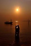 Momento romantico Fotografie Stock