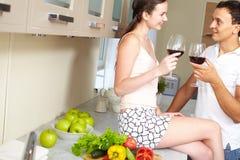 Momento romântico Foto de Stock Royalty Free