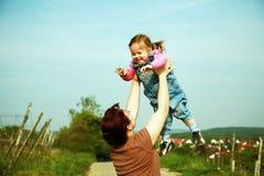 Momentos da família Imagem de Stock