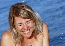 Momentos de felicidad Imagenes de archivo