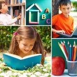 Momentos de la educación Imagen de archivo libre de regalías