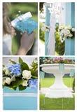 Momentos do casamento Imagem de Stock Royalty Free