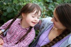 Momentos felices de la familia Fotos de archivo libres de regalías