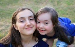 Momentos felices de la familia Fotografía de archivo