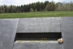 Momentos saiu no lugar do acidente do voo 93 Imagem de Stock Royalty Free