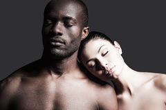 Momentos sensuais Fotografia de Stock