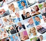 Moments d'affaires Photographie stock libre de droits