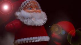 Moments de Noël avec des chansons de Noël banque de vidéos