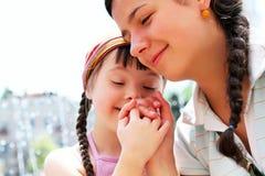 Moments heureux de famille images stock