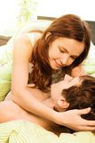 The moments of intimacy Stock Images