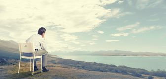 Moments of isolation Royalty Free Stock Photos