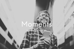 Moments Period of Time Life Memories Concept Royalty Free Stock Images