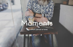 Moments Period of Time Life Memories Concept Royalty Free Stock Photos