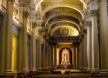 Moments secrets à un de San Francisco Church image stock