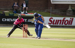 Momentum One Day Cup. The Momentum one day Cup played at St Georges Park in Port Elizabeth South Africa between Chevrolet Warriors and Nashua Mobile Cape Cobras stock photos